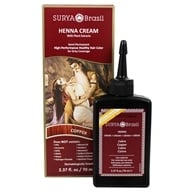 Surya Brasil - Henna Brasil Cream Hair Coloring with Organic Extracts Copper - 2.31 oz. - $8.99