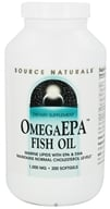 Source Naturals - Omega EPA Fish Oil Marine Lipids with EPA & DHA 1000 mg. - 200 Softgels, from category: Nutritional Supplements