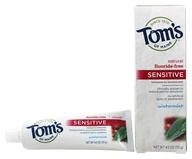 Tom's of Maine - Natural Toothpaste Sensitive Fluoride-Free Wintermint - 4 oz.