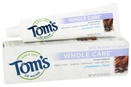 Image of Tom's of Maine - Natural Toothpaste Whole Care With Fluoride Cinnamon Clove - 4.7 oz.