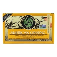 Triple Leaf Tea - American Ginseng Root Tea - 20 Tea Bags by Triple Leaf Tea