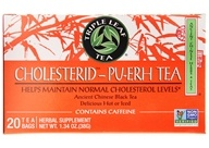 Triple Leaf Tea - Cholesterid Tea Pu-Erh - 20 Tea Bags, from category: Teas