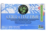 Image of Triple Leaf Tea - Cold & Flu Time Tea - 20 Tea Bags