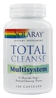 Solaray - Total-Cleanse Multisystem - 120 Capsules, from category: Detoxification & Cleansing