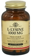 Solgar - L-Lysine Free Form 1000 mg. - 50 Tablets