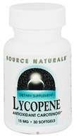 Source Naturals - Lycopene 15 mg. - 30 Softgels (021078012900)