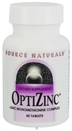 Source Naturals - OptiZinc 30 mg. - 60 Tablets CLEARANCE PRICED