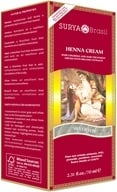 Surya Brasil - Henna Brasil Cream Hair Coloring with Organic Extracts Silver Fox - 2.31 oz. - $8.99