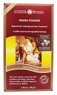 Surya Brasil - Henna Powder Natural Hair Coloring Ash Brown - 1.76 oz.