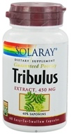 Solaray - Guaranteed Potency Tribulus Extract 450 mg. - 60 Capsules by Solaray