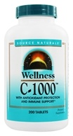 Source Naturals - Wellness C-1000 - 200 Tablets