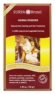 Surya Brasil - Henna Brasil Powder Natural Hair Coloring Swedish Blonde - 1.76 oz. (7896544700352)