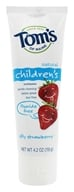 Tom's of Maine - Natural Toothpaste Children's Fluoride-Free Silly Strawberry - 4.2 oz. by Tom's of Maine