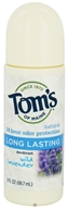 Image of Tom's of Maine - Natural Deodorant Roll-On Long-Lasting Wild Lavender - 3 oz.