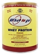 Solgar - Whey To Go Protein Powder Natural Vanilla - 32 oz. by Solgar