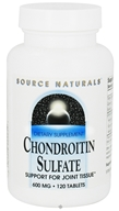 Source Naturals - Chondroitin Sulfate 600 mg. - 120 Tablets