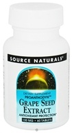 Image of Source Naturals - Grape Seed Extract Proanthodyn 100 mg. - 60 Tablets