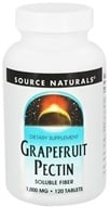 Source Naturals - Grapefruit Pectin 1000 mg. - 120 Tablets - $9.92