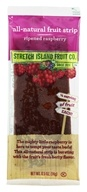 Image of Stretch Island Fruit - All-Natural Fruit Strip Ripened Raspberry - 0.5 oz. Formerly Original Fruit Leather