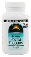 Image of Source Naturals - Saint John's Positive Thoughts - 90 Tablets