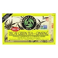 Triple Leaf Tea - Decaf Green Tea with Ginseng & Chinese Herbs - 20 Tea Bags (023991000156)
