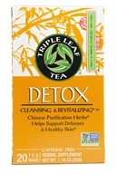 Thé détoxifiant et revitalisant - 20 Tea Bags by Triple Leaf Tea