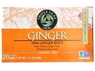 Triple Leaf Tea - Ginger Tea - 20 Tea Bags, from category: Teas
