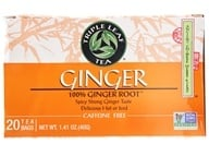 Triple Leaf Tea - Ginger Tea - 20 Tea Bags by Triple Leaf Tea