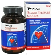 Image of Twinlab - Blood Pressure Success - 60 Tablets