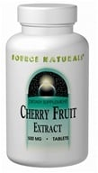 Source Naturals - Cherry Fruit Extract 500 mg. - 180 Tablets (021078016823)