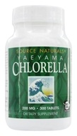 Source Naturals - Chlorella From Yaeyama 200 mg. - 300 Tablets