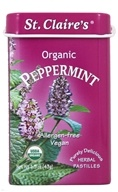 Organic Breath Mints Peppermint - 1.5 oz.