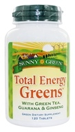 Sunny Green - Total Energy Greens - 120 Tablets, from category: Nutritional Supplements