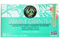 Triple Leaf Tea - Jasmine Green Tea - 20 Tea Bags by Triple Leaf Tea