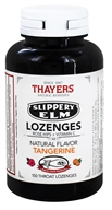 Thayers - Slippery Elm Lozenges with Rose Hips and Vitamin C Tangerine - 150 Lozenges (041507066021)