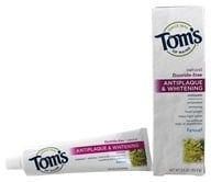 Tom's of Maine - Natural Toothpaste Antiplaque & Whitening Fluoride-Free Fennel - 5.5 oz. by Tom's of Maine