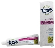 Tom's of Maine - Natural Toothpaste Antiplaque & Whitening Fluoride-Free Fennel - 5.5 oz.