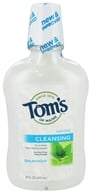 Image of Tom's of Maine - Natural Cleansing Mouthwash Fluoride-Free Spearmint - 16 oz.