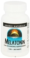 Source Naturals - Melatonin 1 mg. - 300 Tablets - $12.29
