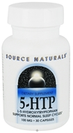 Image of Source Naturals - 5-HTP L-5 Hydroxytryptophan 100 mg. - 30 Capsules