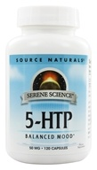 Serene Science 5-HTP for Balanced Mood 50 mg. - 120 Capsules