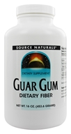 Image of Source Naturals - Guar Gum Dietary Fiber Powder - 16 oz.