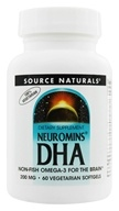 Image of Source Naturals - Neuromins DHA 200 mg. - 60 Vegetarian Softgels