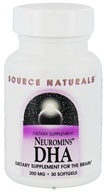 Source Naturals - Neuromins DHA 200 mg. - 30 Vegetarian Softgels CLEARANCE PRICED