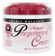 Source Naturals - Natural Progesterone Cream - 4 oz., from category: Nutritional Supplements
