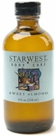 Image of Starwest Botanicals - Sweet Almond Oil refined - 4 oz. CLEARANCE PRICED