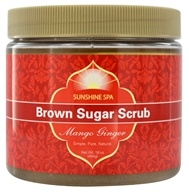 Image of Sunshine Spa - Brown Sugar Scrub Mango Ginger - 16 oz.
