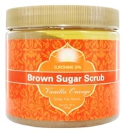Sunshine Spa - Brown Sugar Scrub Vanilla Orange - 16 oz. (076950120051)