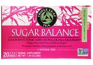 Triple Leaf Tea - Sugar Balance & Women's Tonic with Dong Quai - 20 Tea Bags (023991000071)