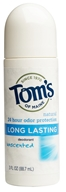 Tom's of Maine - Natural Deodorant Roll-On Long-Lasting Unscented - 3 oz.